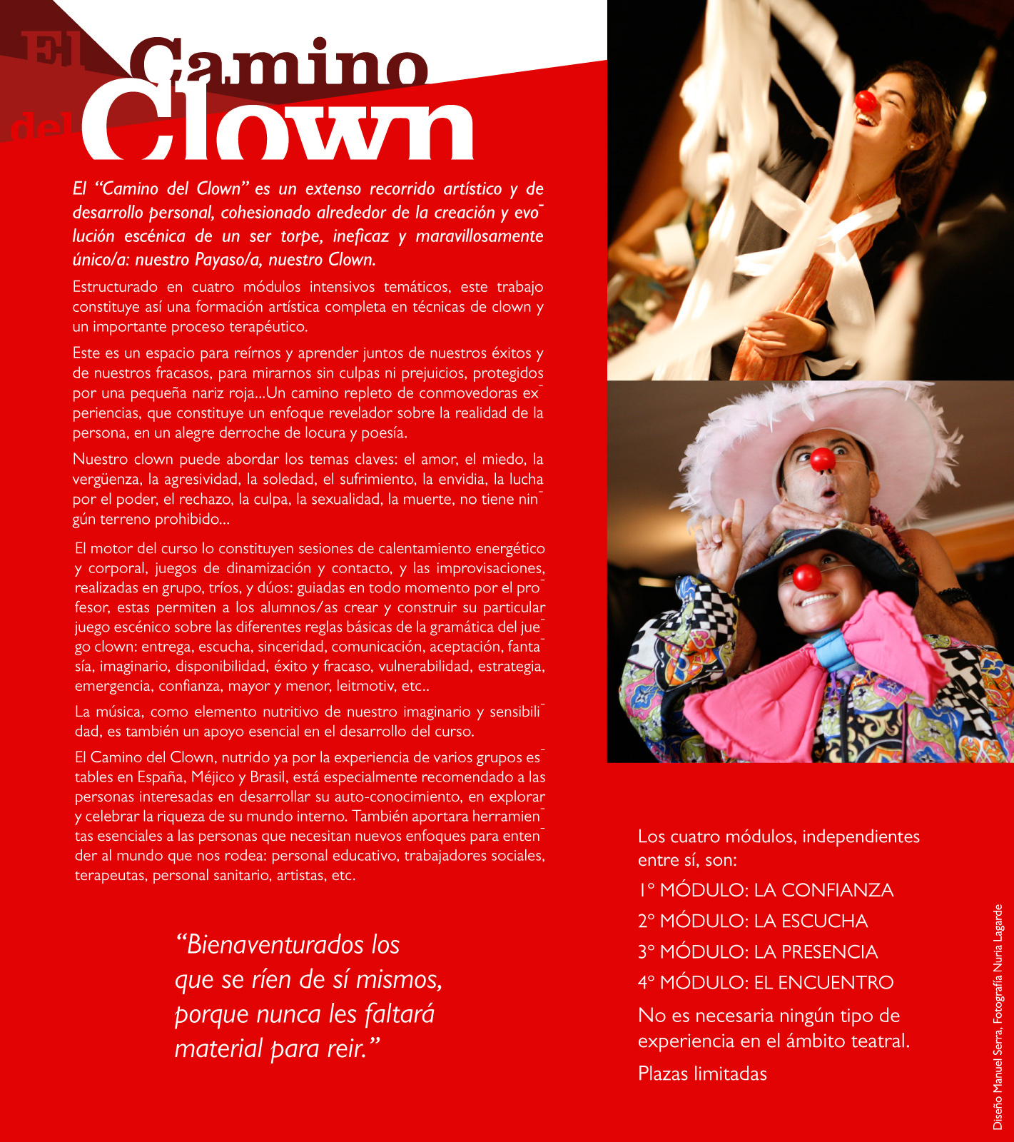 Flyer El Camino del Clown web
